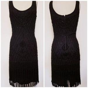 Vintage Dresses - {Vtg} Sequined Flapper Dress